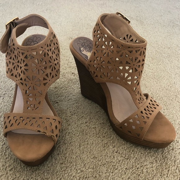 Restricted Shoes - Restricted brown wedges